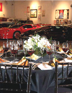Catering the Marconi Automotive Museum