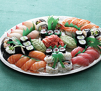 New Year's Fresh Sushi Platters