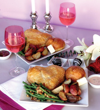 Valentine 39 s meal for two bristol farms for Best valentines day meals