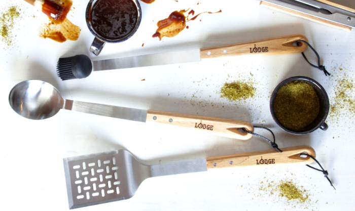 lodge grilling tools