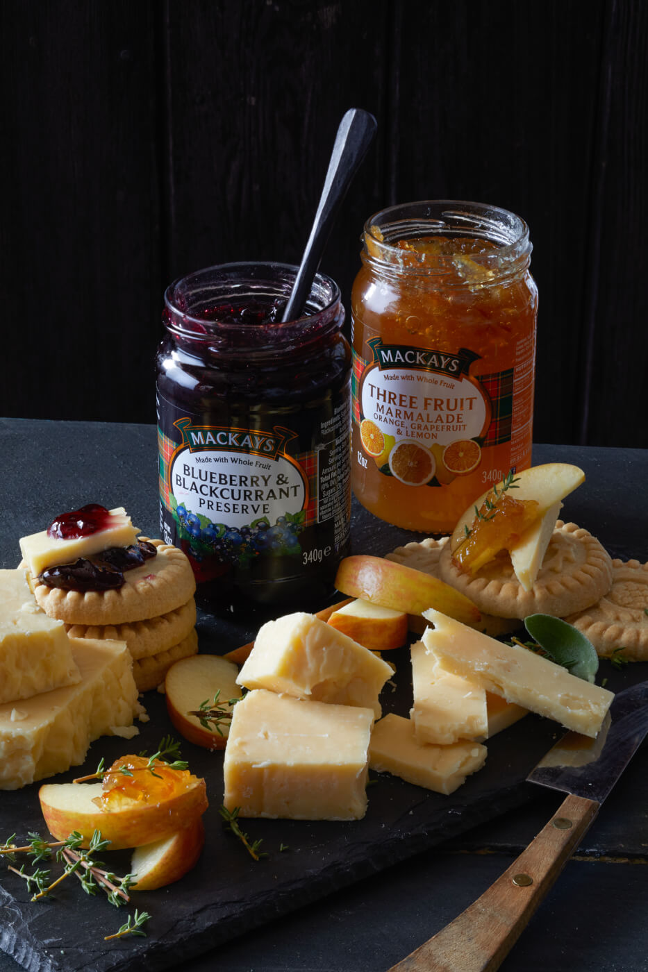Mackays Chutneys and Preserves from Scotland.