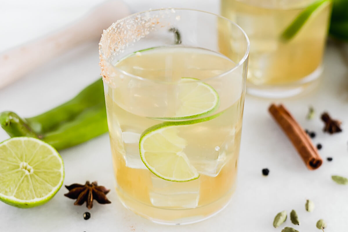 Spicy Hatch Chile Margaritas